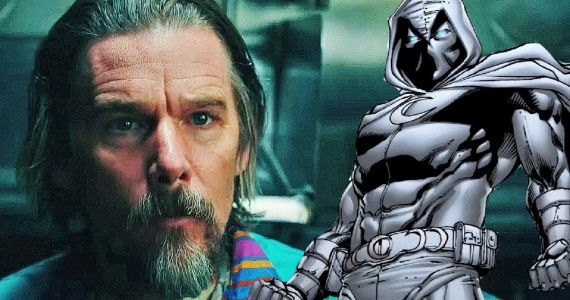 Ethan Hawke Is the Main Villain in Moon Knight Disney+ Series