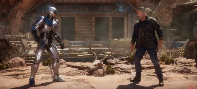 The Morning Watch: 'RoboCop vs Terminator' in Mortal Kombat 11, Working with Steve Carell on 'Space Force' & More