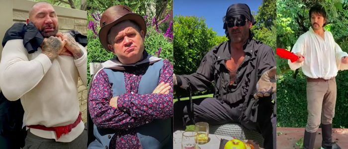 Watch: Quibi's Homemade 'The Princess Bride' Remake Scene, Starring Jack Black, Jon Hamm, Patton Oswalt, and More