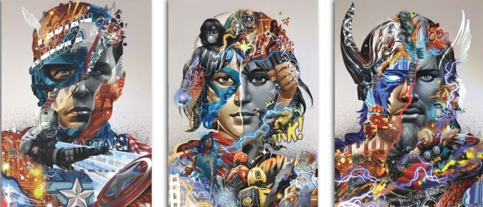 The Avengers Reimagined in Fine Art Print Series From Artist Tristan Eaton