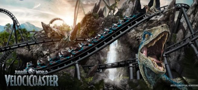Jurassic World VelociCoaster Revealed by Universal Orlando Resort, Promising Universal's Steepest Drop Yet