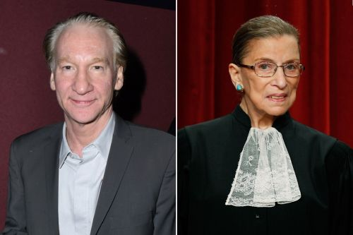 "Bill Maher Receives News Of Ruth Bader Ginsburg's Death During 'Real Time' Broadcast: ""She Was Just Awesome"""