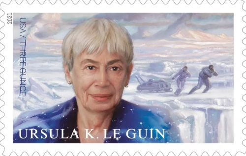 Ursula K. Le Guin Stamp Getting Released by the US Postal Service