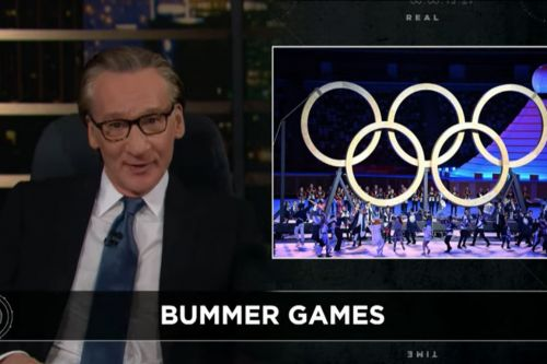 """Bill Maher Says """"Woke"""" Tokyo Olympics Is Riddled With Cancel Culture On 'Real Time'"""