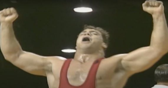 Kurt Angle Celebrates 25th Anniversary of Winning Olympic Gold with a 'Broken Freakin' Neck'