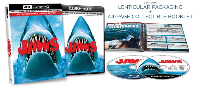 JAWS: 45th Anniversary Limited Edition Is Finally Available On 4K Ultra HD Blu-ray