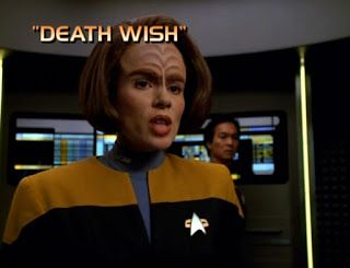 "Star Trek: Voyager- ""Death Wish"""