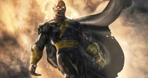 The Rock's Black Adam Gets a Release Date & First Look
