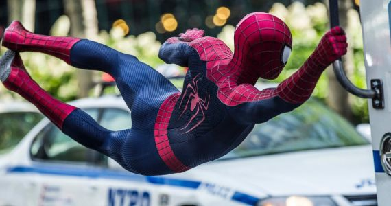 Spidey Caught on Camera as Real-Life Spider-Man Swings Through New York
