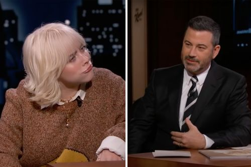 Billie Eilish Punches Jimmy Kimmel in the Stomach - With His Permission
