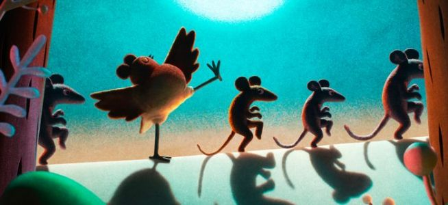 'Robin Robin', New Netflix Stop-Motion Holiday Film From Aardman, Adds Gillian Anderson and Richard E. Grant