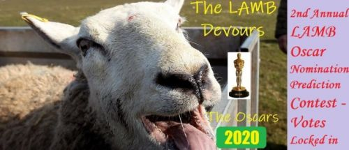 The LAMB Devours the Oscars 2020 - Oscar Prediction Pool Ballots are Now Locked In!!
