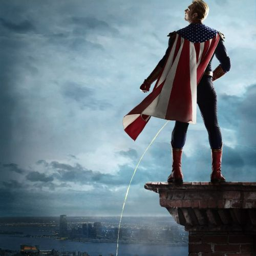 THE BOYS: Homelander Takes A Leak On The City On New Season 2 Promo Poster