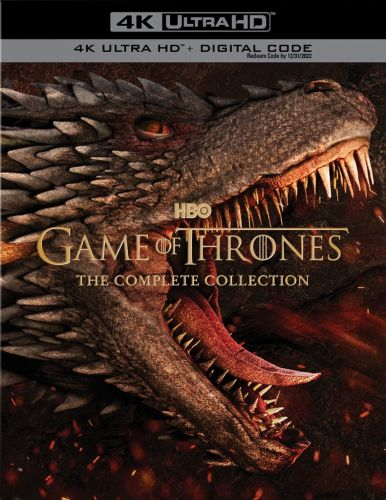 GAME OF THRONES: THE COMPLETE COLLECTION Announced For The First Time Ever On 4K Ultra HD