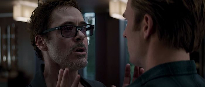 Revisiting the Simple Joy of Tony Stark Yelling at Steve Rogers in 'Avengers: Endgame'