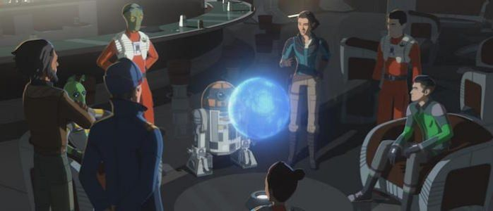 "'Star Wars Resistance' Sets the Stage for the Series Finale With ""Rebuilding the Resistance"""