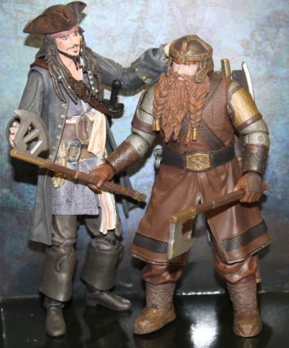 Toy Review: The Lord of the Rings Gimli Deluxe Figure by Diamond Select