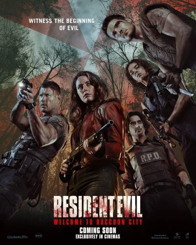 Welcome to Raccoon City Clip and Posters Faithfully Adapt Resident Evil