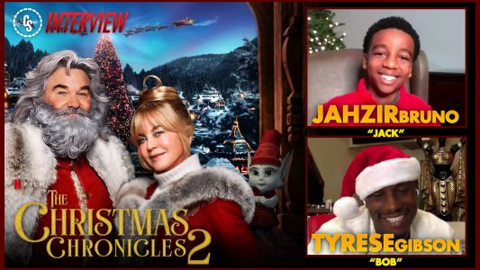 CS Video: The Christmas Chronicles 2 Interview With Bruno & Gibson