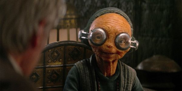 First Maz Kanata Image in Rise of Skywalker Has Incredible CG Detail