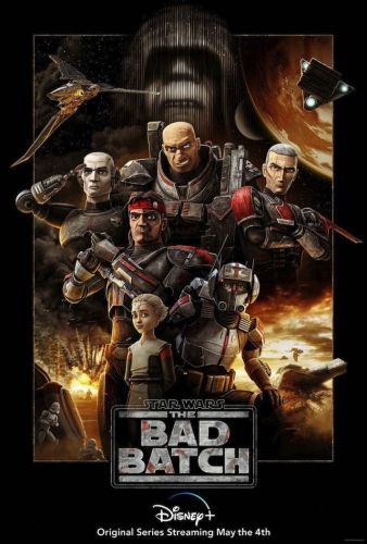 Clone Force 99 Strikes a Pose for Star Wars: The Bad Batch Poster
