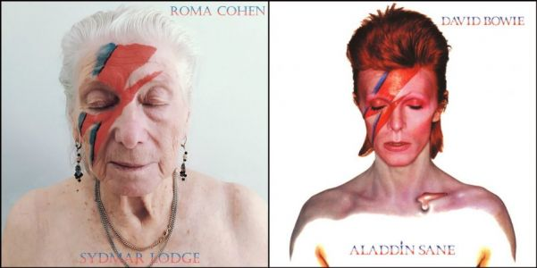 Nursing Home Residents Replace Famous Rock Stars on Iconic Album Covers