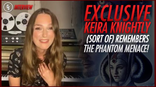 """Exclusive: """"Was I Not Padme?"""" Keira Knightley on Star Wars: The Phantom Menace"""