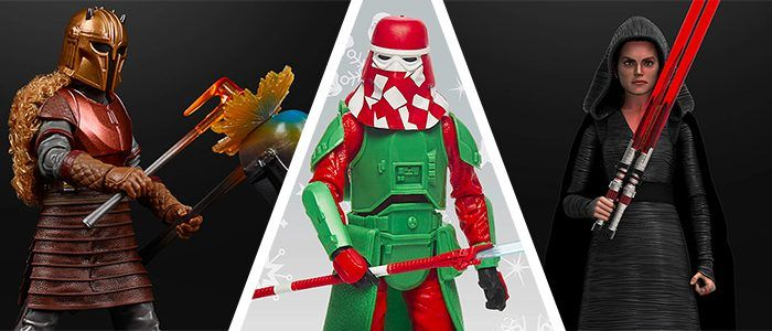 New 'Star Wars' Toys: Goofy Holiday Collection, Dark Side Rey, 'The Mandalorian' Armorer & More