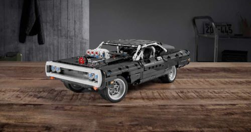 Dom's Fast & Furious Charger Gets the Lego Treatment