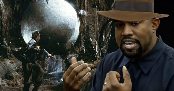 Kanye West Is Turning Indiana Jones Boulder Trap Into a Door and Fans Want to Help
