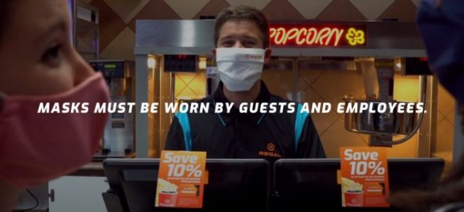 Regal Releases Oddly Cheerful Video About Reopening Theaters in the Age of Coronavirus