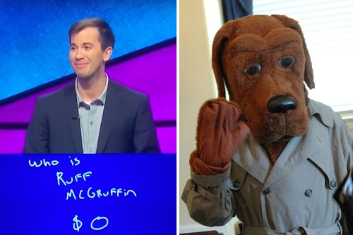 "'Jeopardy' Contestant Mixes Up McGruff the Crime Dog with ""Ruff McGruffin"""
