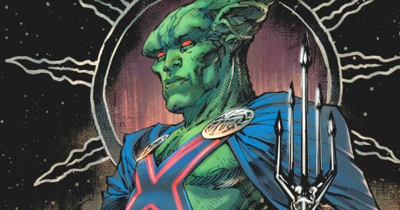 Martian Manhunter Revealed in Zack Snyder's Justice League Preview Comic