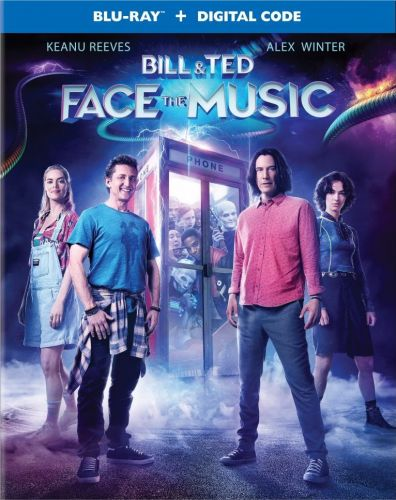 BILL & TED FACE THE MUSIC Starring Keanu Reeves & Alex Winter Coming To Blu-ray This November