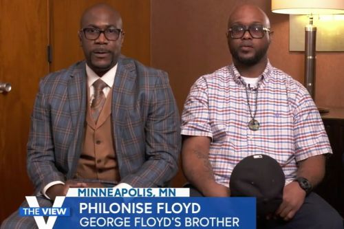 "'The View': After Derek Chauvin Guilty Verdict, George Floyd's Brother Says All Officers Involved ""Need To Be Doing Time"""