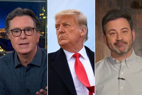 """Late Night Hosts Celebrate Trump's Impeachment: """"I Feel Like I Just Took Down My Decorations"""" From the Last One"""