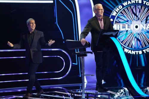 """Anderson Cooper Jokes """"I Am in Deep Trouble"""" With Andy Cohen As His Guest on 'Who Wants to Be a Millionaire'"""