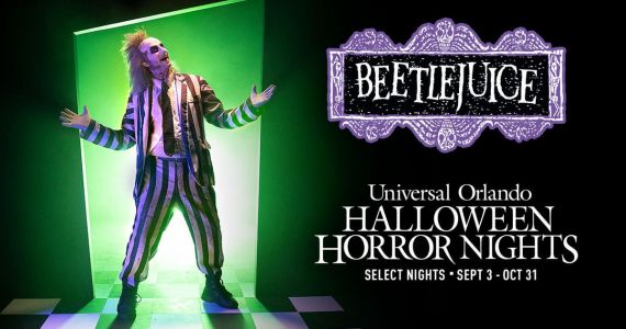 Beetlejuice Haunted House Is Coming to Halloween Horror Nights Orlando for 30th Anniversary
