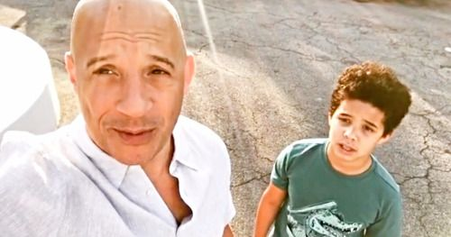 Vin Diesel and Son Deliver a Global Family Message as We Wait