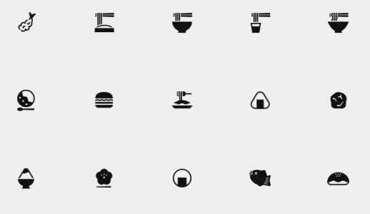 Download 280 Pictographs That Put Japanese Culture Into a New Visual Language: They're Free for the Public to Use