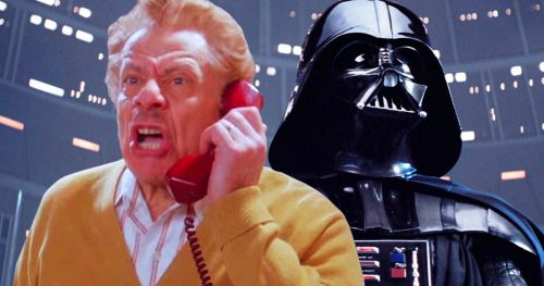 Seinfeld Icon Frank Costanza Is a Ranting Darth Vader in Star
