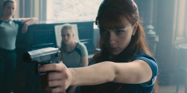 Black Widow Movie Set Photos Reveal New Costumed Character