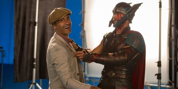 Thor: Love And Thunder's Taika Waititi Just Shared What Timeout Looks Like For His Kid On MCU Set