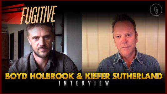 CS Video: The Fugitive Interview With Kiefer Sutherland & Boyd Holbrook