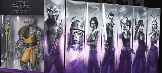 'Star Wars' Black Series Packaging Gets a Makeover As New 'Star Wars Rebels' and 'The Mandalorian' Figures Arrive