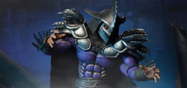 Cool Stuff: NECA's 'Teenage Mutant Ninja Turtles II' Super Shredder Action Figure Goes Up for Pre-Order August 10