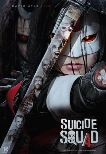 "SUICIDE SQUAD ""Ayer Cut"" Fan-Made Poster Focuses On An Enchantress-Controlled Katana"