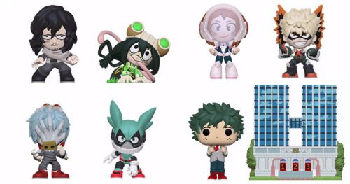 New My Hero Academia Funko Pop! Figures Take Toy Fair by
