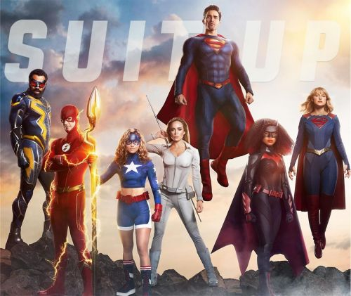Suit Up With The CW's DC Heroes In a New Promo Poster