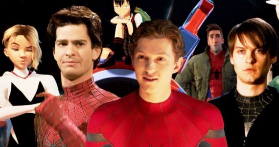 Spider-Man: Far from Home Weird Trailer Spirals Into a Mind-Melting Multiverse